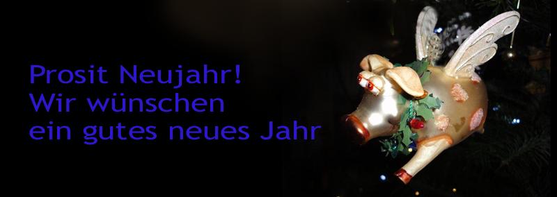 Prosit Neujahr wünscht der SI-Club Kiel Baltica