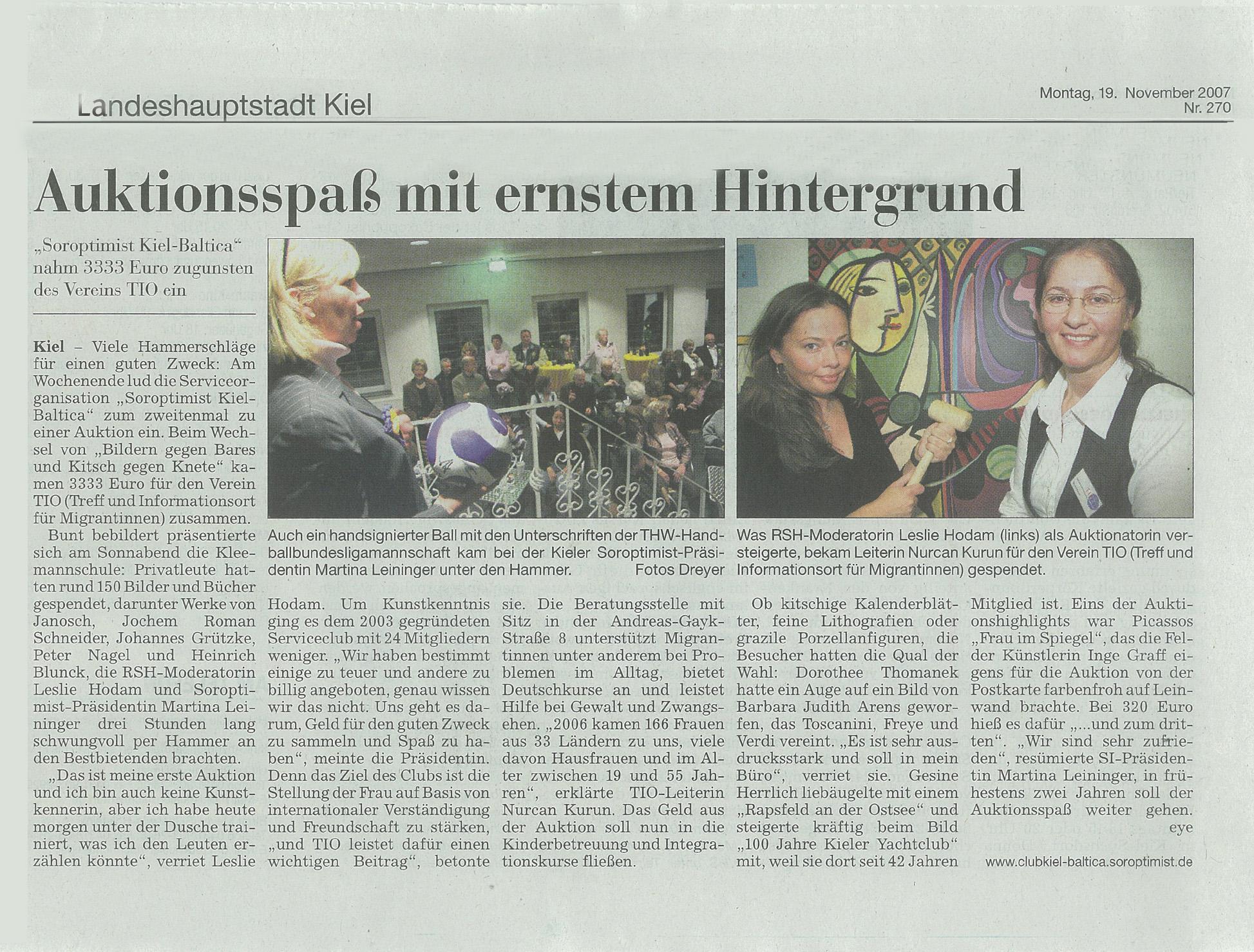 Kieler Nachrichten SI-Bilder-Auktion