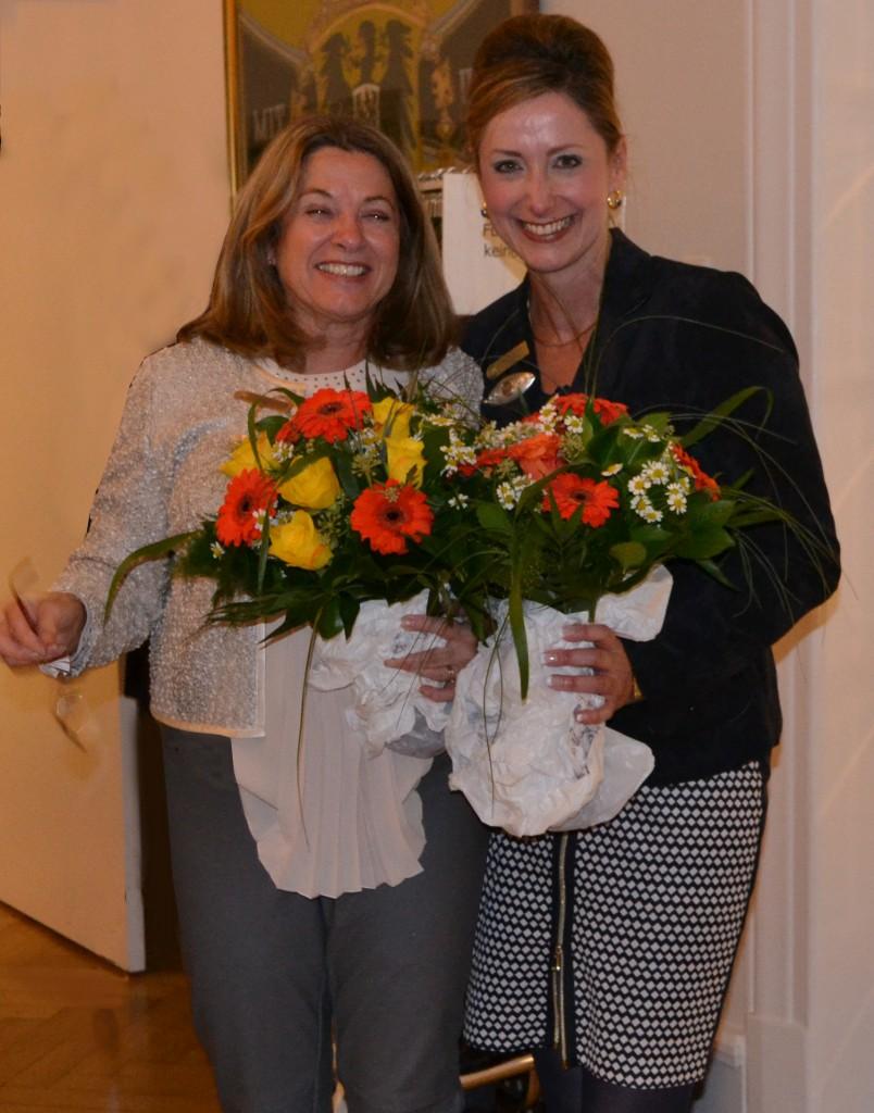 Dorothee Thomanek und Angelika Adelmann