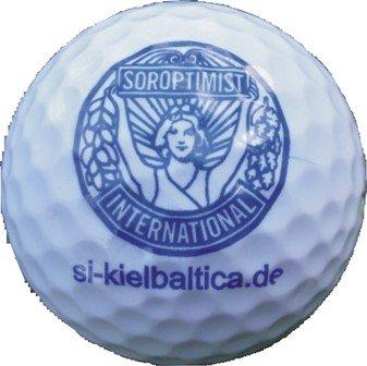 Soroptimist International Club Kiel Baltica Golfball