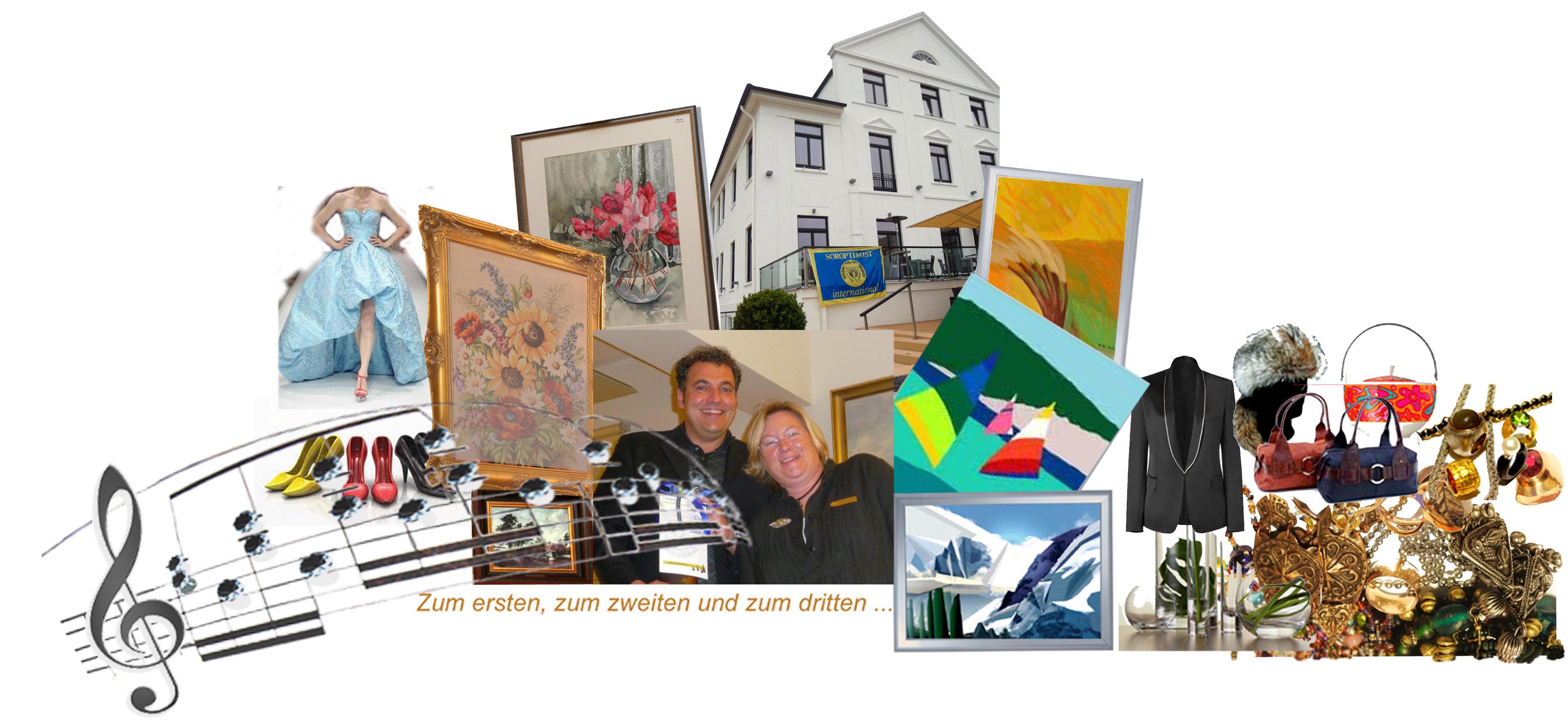 SI Benefinz-Auktion Bilder gegen Bares