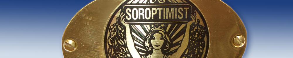 Soroptimist-Schild