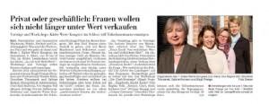 Kieler Nachrichten vom 22.2.13: Kieler Wertekongress