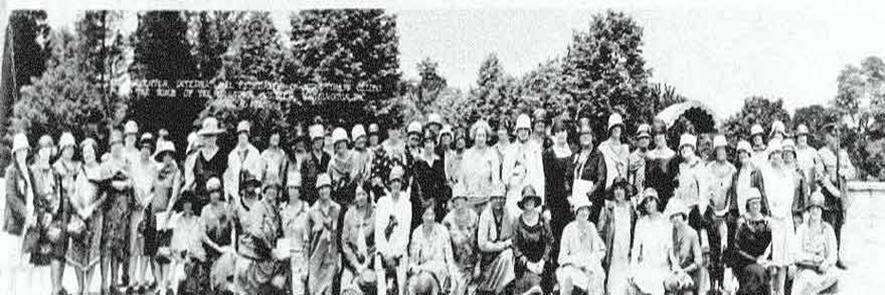 Der erste SI-Club in Oakland 1921Kalifornien
