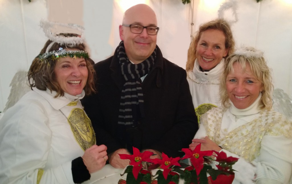 SI-Engel mit  Ministerpräsident Torsten Albig